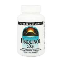 Source Naturals Ubiquinol CoQH 50 mg softgels - 120 ea