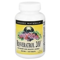 Source Naturals Resveratrol 200 200 mg tablets - 120 ea