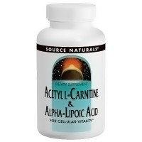 Source Naturals Acetyl L-carnitine and Alpha-lipoic acid tablets - 10 ea
