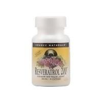 Source Naturals Resveratrol 200tm 200 mg vegetarian capsules - 30 ea