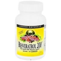 Source Naturals Resveratrol 200 200 mg vegetarian capsules - 60 ea
