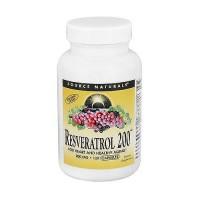Source Naturals Resveratrol 200 mg Vegetarian Capsules - 120 ea