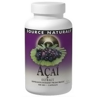Source Naturals Acai extract 500 mg vegetarian capsules - 60 ea