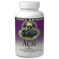 Source Naturals Acai extract 500 mg capsules - 120 ea