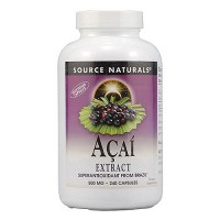Source Naturals Acai extract 500 mg vegetarian capsules - 240 ea