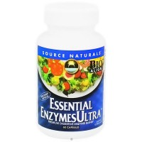 Source Naturals Essential Enzymes Ultra Veg Capsules - 60 ea