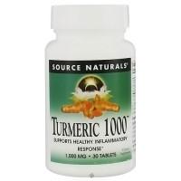 Source Naturals Turmeric 1000 1000 mg tablets - 30 ea