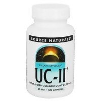 Source Naturals UC-II powerful convenient joint comfort 40 mg capsules - 120 ea