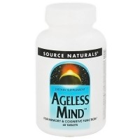 Source Naturals Ageless mind tablets - 60 ea