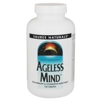 Source Naturals Ageless mind tablets - 120 ea
