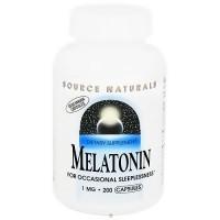 Source Naturals Sleep Science Melatonin 1 mg capsules - 200 ea