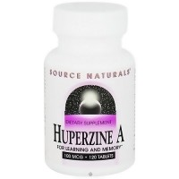 Source Naturals Huperzine A 100 mcg tablets for learning and memory - 120 ea