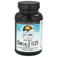 Source Naturals ArcticPure omega-3 1125 fish oil softgels - 60 ea