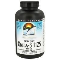 Source Naturals ArcticPure omega-3 1125 fish oil softgels - 120 ea