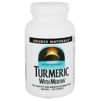 Source Naturals Turmeric with meriva 500 mg tablets - 120 ea