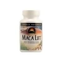 Source Naturals Maca lift 600 mg vegetarian capsules - 60 ea