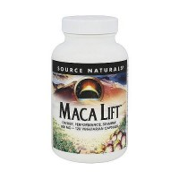 Source Naturals Maca lift 600 mg vegetarian capsules - 120 ea