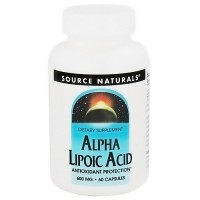 Source Naturals Alpha lipoic acid 600 mg Capsules - 60 ea