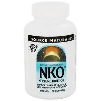 Source Naturals NKO neptune krill oil 1000 mg softgels _ 60 ea
