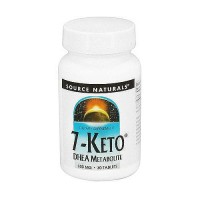 Source Naturals 7-Keto DHEA metabolite 100 mg tablets - 30 ea