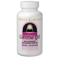 Source Naturals Coenzyme Q10 with biperine 100 mg softgels - 60 ea