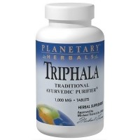 Planetary Herbals Triphala ayurvedic purifier 1000 mg tablets - 90 ea