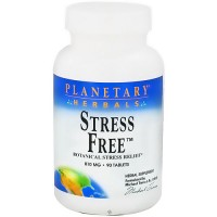 Planetary Herbals Botanical Stress Relief 810 mg Tablets - 90 ea