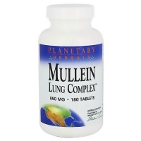 Planetary Herbals Mullein Lung Complex 850 Mg Tablets - 180 Ea