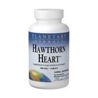 Planetary Herbals Hawthorn Heart Support 900 mg Tablets - 120 ea