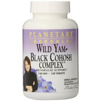 Planetary herbals wild yam black cohosh complex tablets  - 120 ea