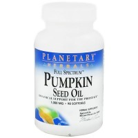 Planetary Herbals  pumpkin seed oil full spectrum  1000 mg - 90 softgels