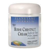Planetary Herbals Horse chestnut cream, for healthy vein circulation - 2 oz