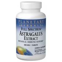 Planetary Herbals Full Spectrum Astragalus Extract 500 mg Tablets - 120 ea