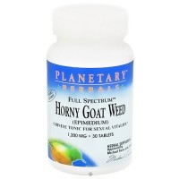 Planetary Herbals Horny goat weed 1200 mg sexual vitality tablets - 30 ea