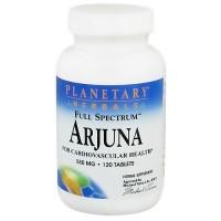 Planetary Herbals Arjuna 550 mg herbal supplement tablets - 120 ea