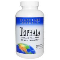 Planetary Herbals Triphala GI Tract Wellness - 180 Capsules