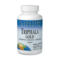 Planetary Herbals Triphala gold cleanser and tonifier 1000 mg tablets - 60 ea