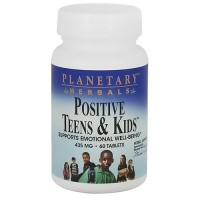 Planetary herbals positive teens and kids 435 mg tablets - 60 ea
