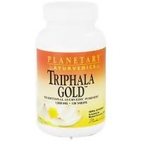 Planetary Ayurvedics Triphala Gold 1000 mg Tablets - 120 ea