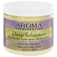 Aroma Therapeutics Deep Relaxation Bubble Bath, Lavender and Melissa - 14 Oz