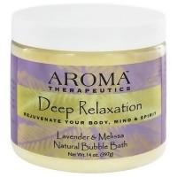 Aroma Therapeutics Deep Relaxation Bubble Bath, Lavender and Melissa - 14 Oz