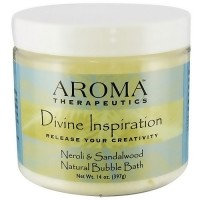 Abra Therapeutics Divine Inspiration Bubble bath, Neroli and Sandalwood - 14 oz
