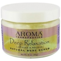 Abra Therapeutics Deep Relaxation Body Scrub With Lavender and Melisa - 10 Oz