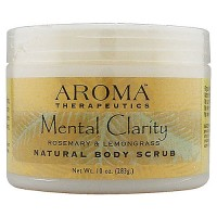 Abra Therapeutics Mental Clarity Body Scrub, Rosemary and Lemongrass - 10 Oz