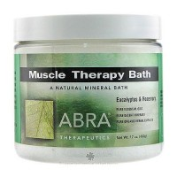 Abra Therapeutics Muscle Therapy Mineral Bath - 17 Oz