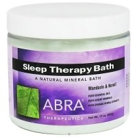 Abra Therapeutics Sleep Therapy Mineral Bath, Mandarin and Neroli - 16 Oz