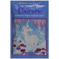 Abra therapeutics abracadabra organic herbals bubble bath unicorn lotus lavender  - 2.5 oz
