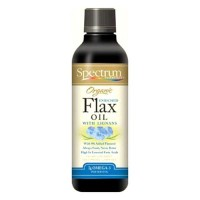 Spectrum kosher organic flax oil omega 3 with cinnamon - 8 oz