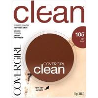 Covergirl clean pressed powder normal skin 160 classic tan - 2 ea