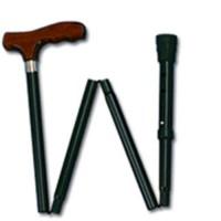 Apex-carex cane folding black adjustable holder (model a 773-00), 1 ea